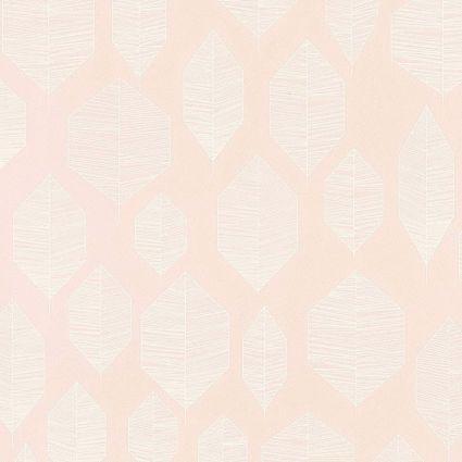 Шпалери AS Creation Colibri 36209-1 лист модерн на рожевому 0,53 х 10,05 м