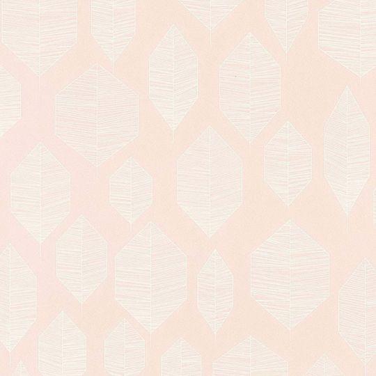 Обои AS Creation Colibri 36209-1 лист модерн на розовом 0,53 х 10,05 м