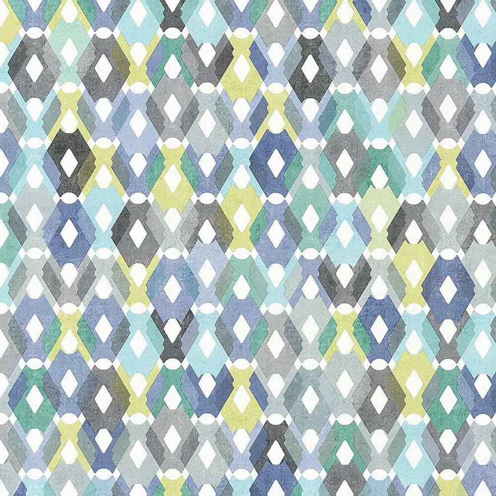 Шпалери AS Creation Colibri 36288-2 мозаїка різнокольорова 0,53 х 10,05 м