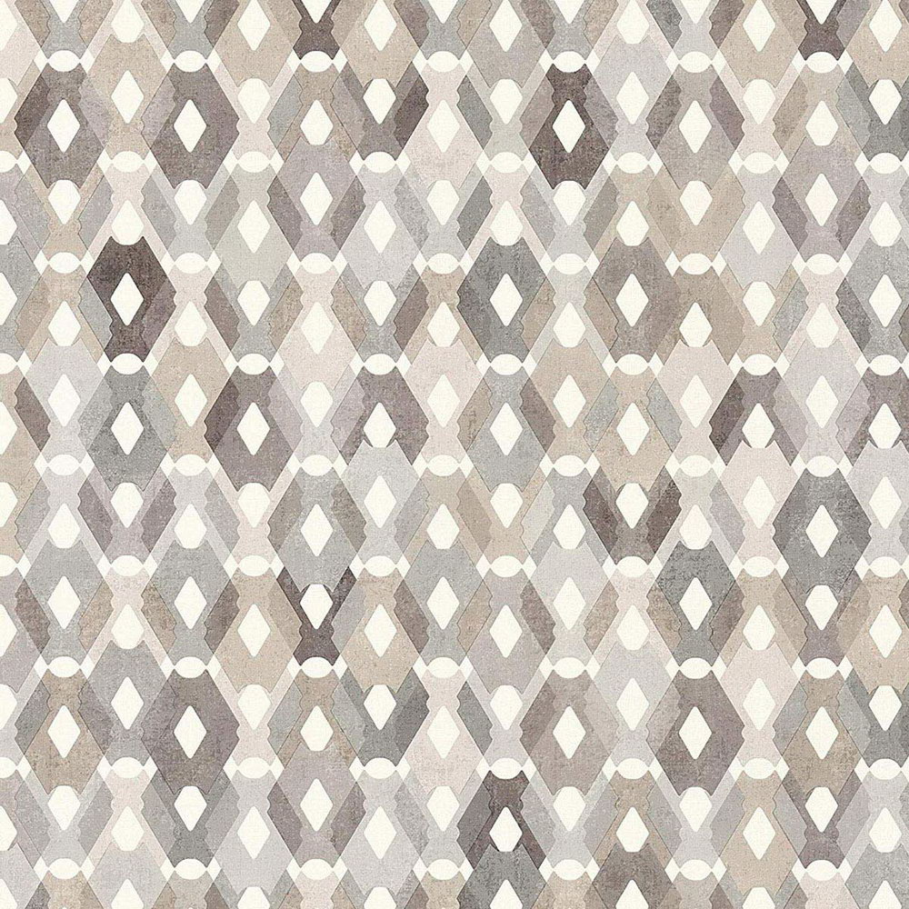 Обои AS Creation Colibri 36288-3 коричневая мозаика 0,53 х 10,05 м