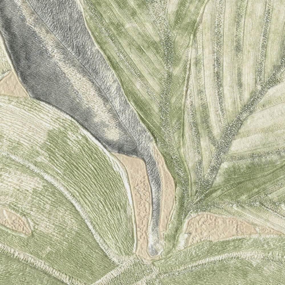 Шпалери AS Creation Aloha 36324-5 тропічні листя на бежевому 1,06 х 10,05 м