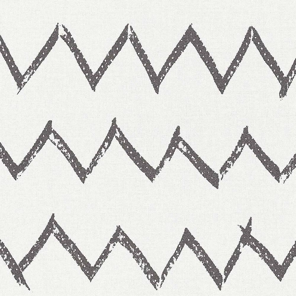 Обои AS Creation Designdschunge 36574-2 черно-белый зигзаг 0,53 х 10,05 м
