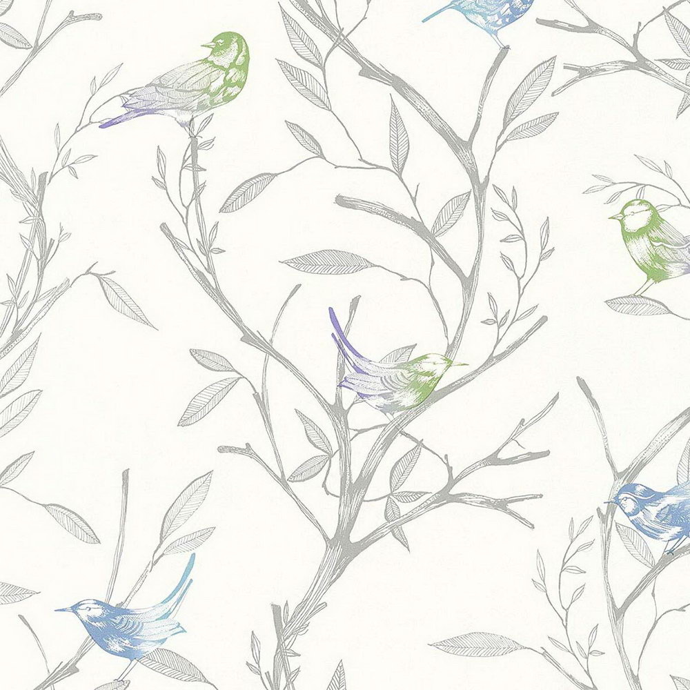 Шпалери AS Creation Colibri 36623-1 пташки на деревах 0,53 х 10,05 м
