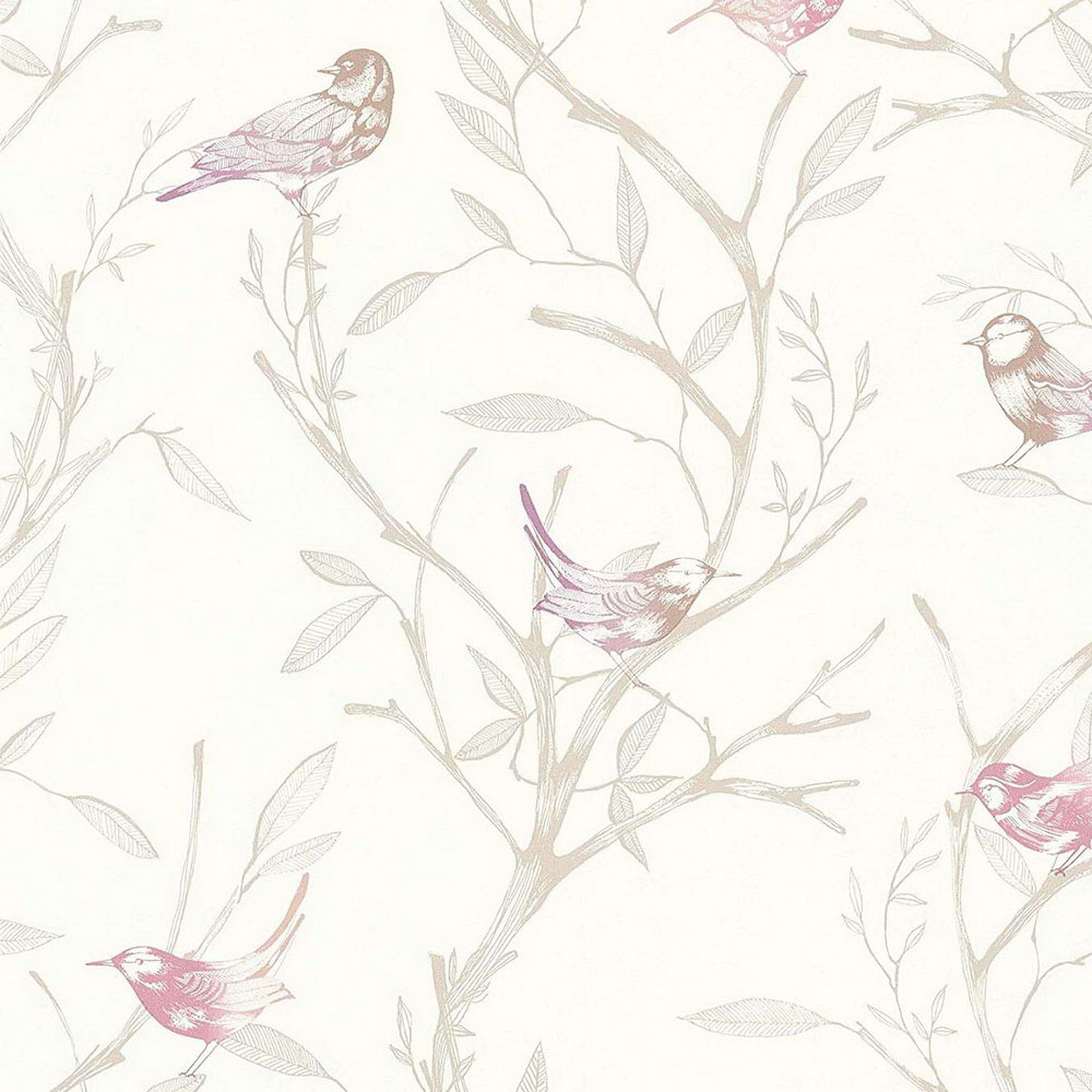 Обои AS Creation Colibri 36623-3 птички на деревьях 0,53 х 10,05 м