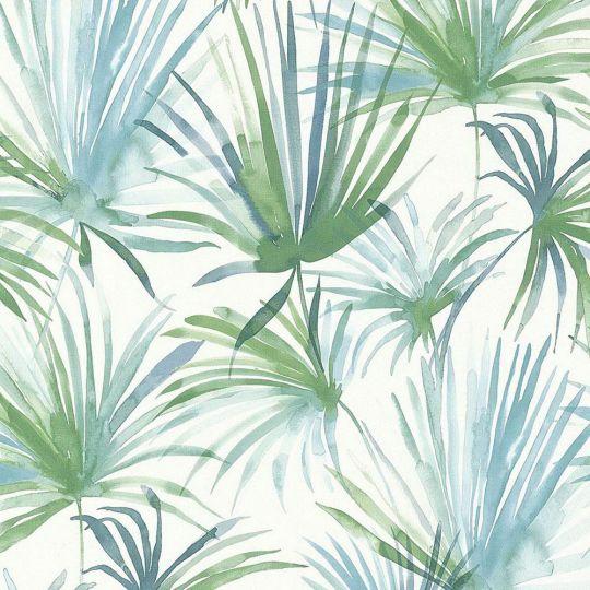 Шпалери AS Creation Colibri 36624-2 зелені листя акварелью 0,53 х 10,05 м