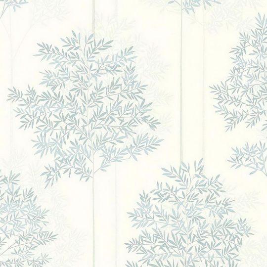 Обои AS Creation Colibri 36626-1 голубые деревья 0,53 х 10,05 м