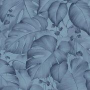 Обои AS Creation Colibri 36627-1 джунгли синие 0,53 х 10,05 м