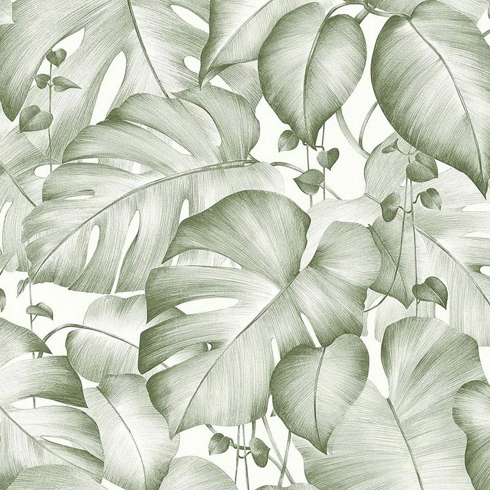 Обои AS Creation Colibri 36627-2 джунгли зеленые 0,53 х 10,05 м
