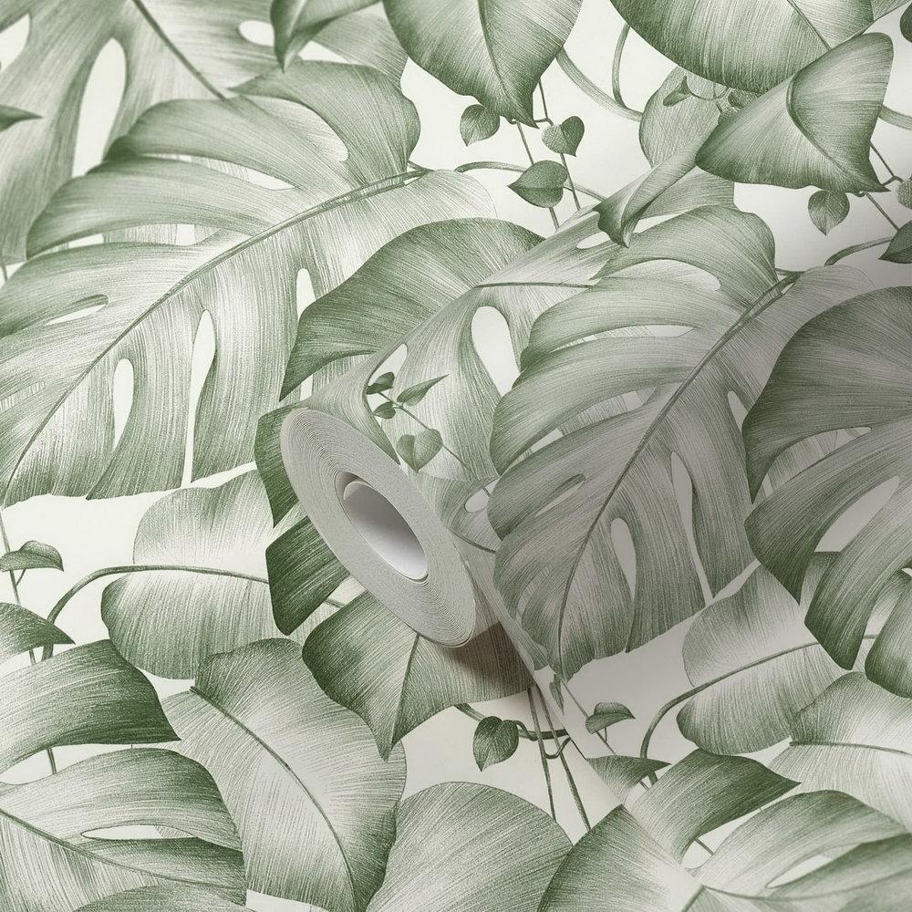 Шпалери AS Creation Colibri 36627-2 джунглі зелені 0,53 х 10,05 м