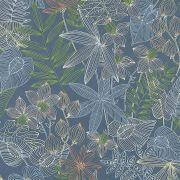 Обои AS Creation Colibri 36630-1 джунгли рисунок синий 0,53 х 10,05 м