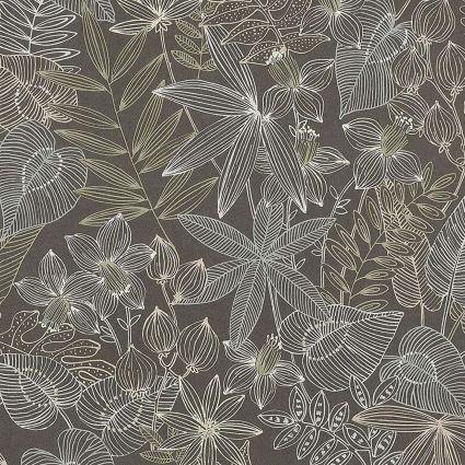 Обои AS Creation Colibri 36630-3 джунгли рисунок коричневый 0,53 х 10,05 м