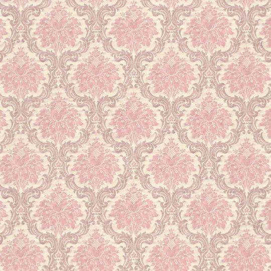Обои AS Creation Saphir  36697-2 розовые гобелены классика 1,06 х 10,05 м