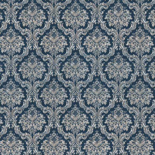 Обои AS Creation Saphir  36697-3 серо-синие гобелены классика 1,06 х 10,05 м