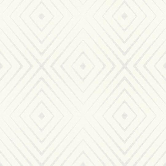 Шпалери AS Creation Trendwall 36785-1 ромби на білому