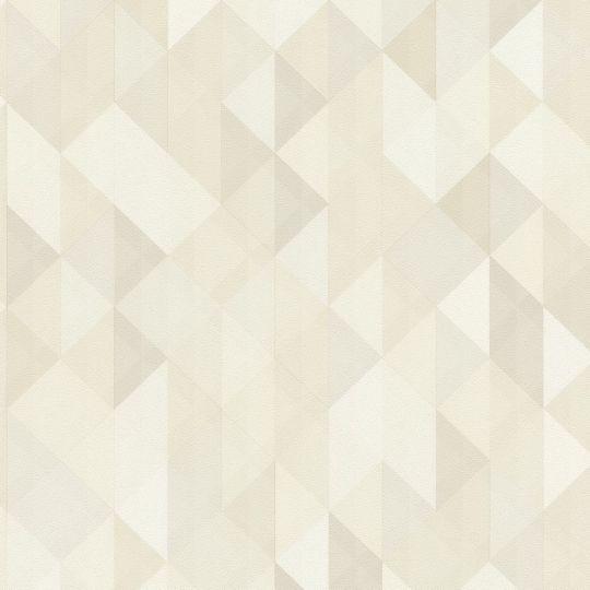 Шпалери AS Creation Trendwall 36786-1 ромби і трикутники бежеві
