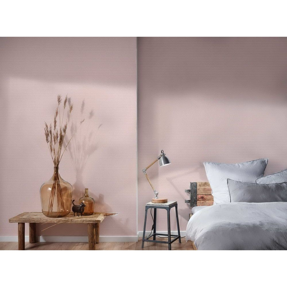 Шпалери AS Creation Metropolitan  36897-1 рожева геометрія арт-деко 0,53 х 10,05 м