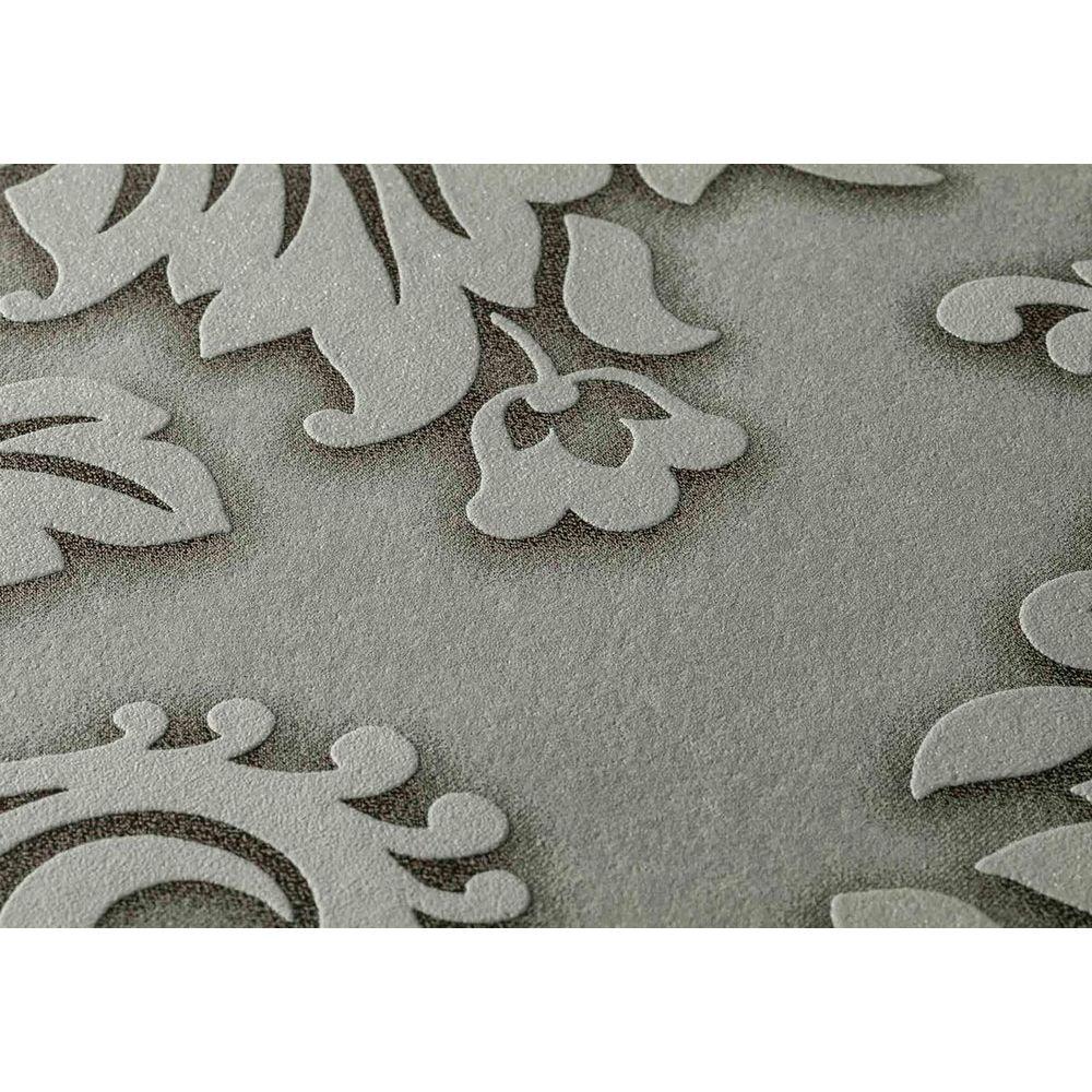 Обои AS Creation Metropolitan  36898-1 серый гобелен классика 0,53 х 10,05 м