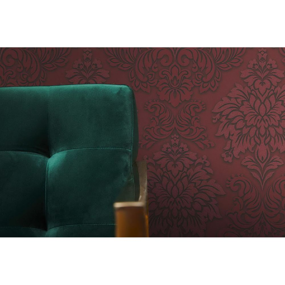 Шпалери AS Creation Metropolitan  36898-3 червоний гобелен класика 0,53 х 10,05 м