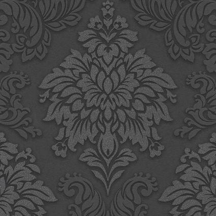 Обои AS Creation Metropolitan  36898-4 черный гобелен классика 0,53 х 10,05 м