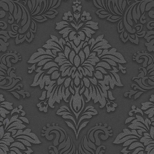 Шпалери AS Creation Metropolitan  36898-4 чорний гобелен класика 0,53 х 10,05 м