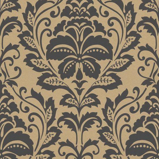 Шпалери AS Creation Attractive 36910-4 гобелен чорно-золотий