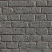 Шпалери AS Creation Metropolitan  36912-1 лофт під цеглу графит 0,53 х 10,05 м