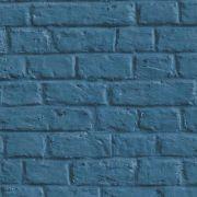 Обои AS Creation Metropolitan  36912-3 лофт под синий кирпич 0,53 х 10,05 м