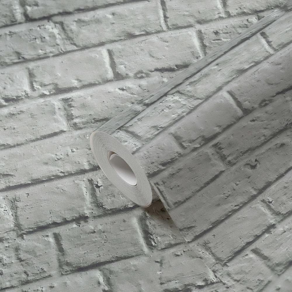 Обои AS Creation Metropolitan  36912-4 лофт под серый кирпич 0,53 х 10,05 м