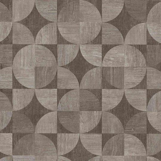 Шпалери AS Creation Metropolitan  36913-2 дерев'яний спіл сіро-коричневий 0,53 х 10,05 м