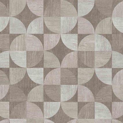 Обои AS Creation Metropolitan  36913-3 деревянный спил серый 0,53 х 10,05 м