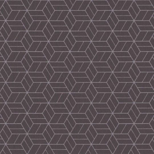 Шпалери AS Creation Metropolitan  36920-1 коричневі куби 0,53 х 10,05 м