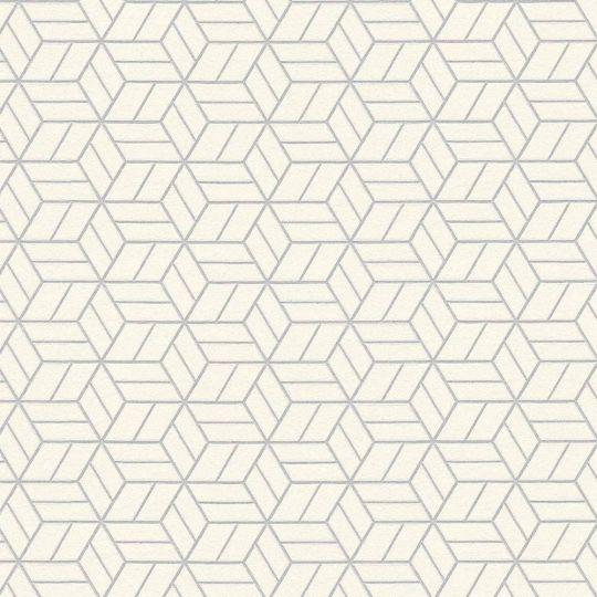Шпалери AS Creation Metropolitan  36920-3 біліе куби 0,53 х 10,05 м