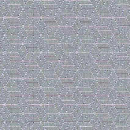 Шпалери AS Creation Metropolitan  36920-4 сірі куби 0,53 х 10,05 м