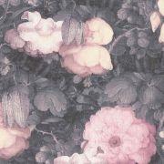 Шпалери AS Creation Metropolitan  36921-2 рожеві квіти холст 0,53 х 10,05 м