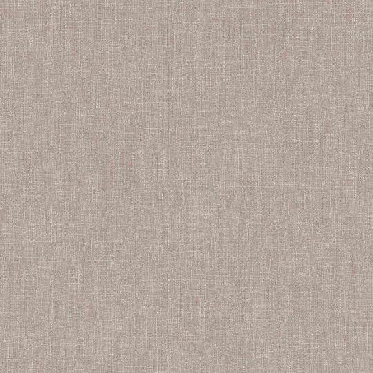 Шпалери AS Creation Metropolitan  36922-4 однотонка льон темно-бежевий 0,53 х 10,05 м