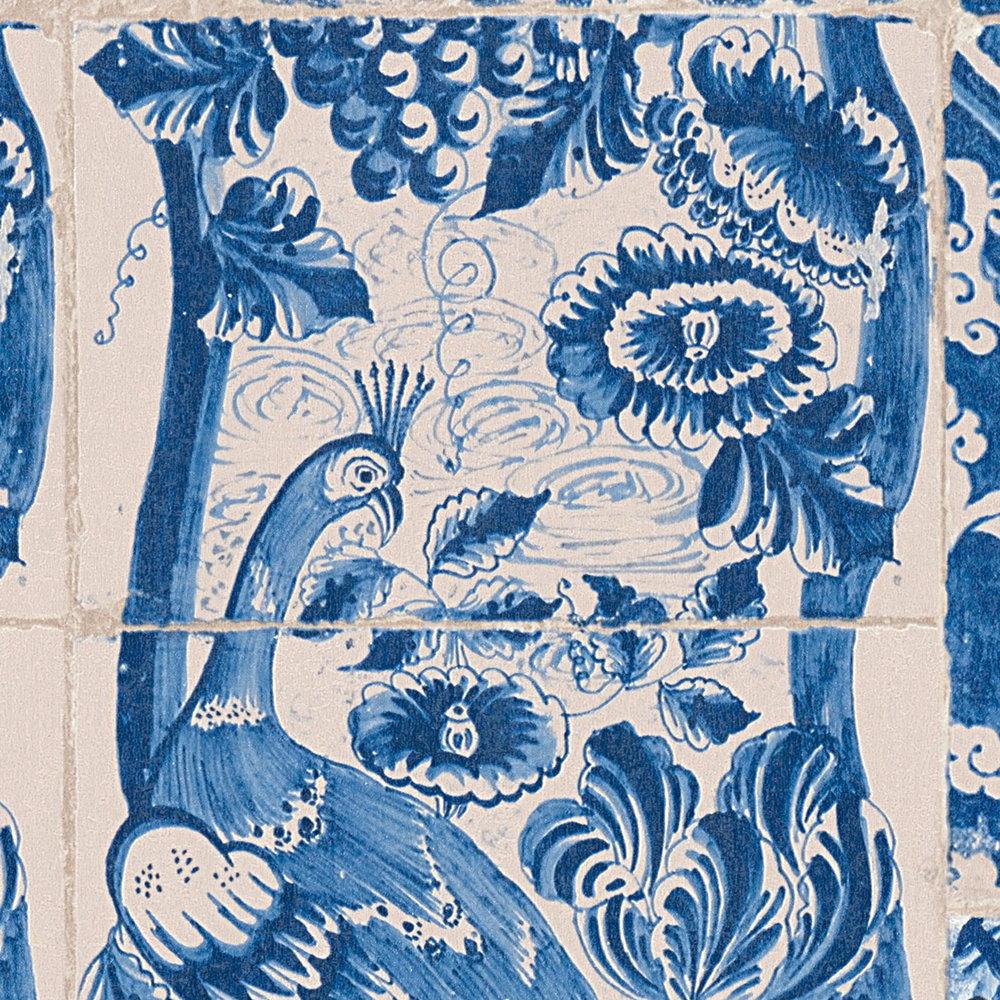Шпалери AS Creation Metropolitan  36923-1 плитка азулежу синя 0,53 х 10,05 м