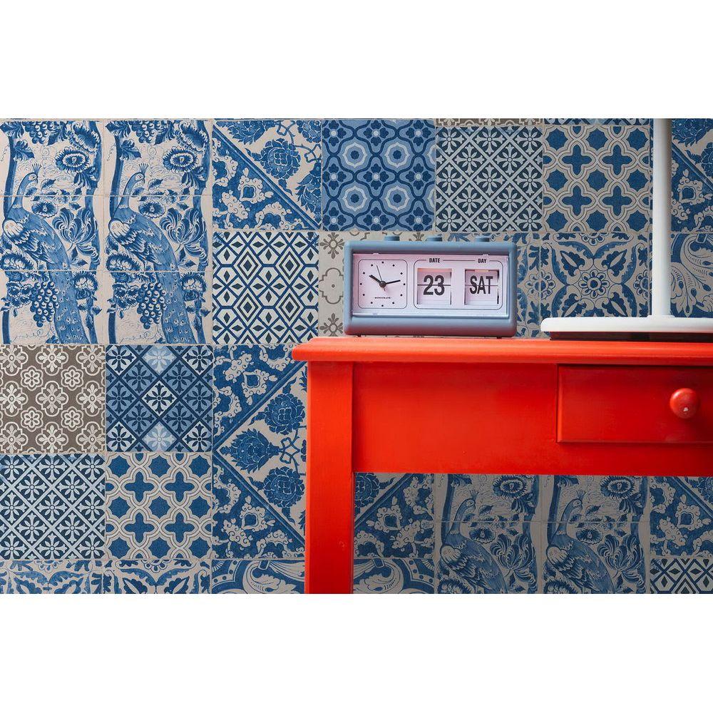 Обои AS Creation Metropolitan  36923-1 плитка азулежу синяя 0,53 х 10,05 м