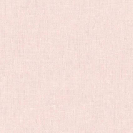 Шпалери AS Creation Metropolitan  36925-2 однотонка льон рожевий 0,53 х 10,05 м