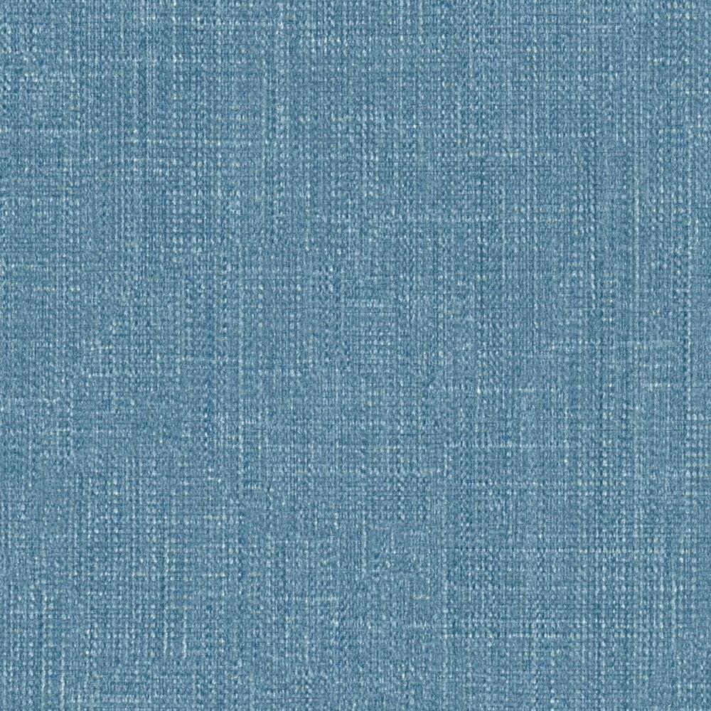 Обои AS Creation Metropolitan  36925-9 однотонка лен синий 0,53 х 10,05 м