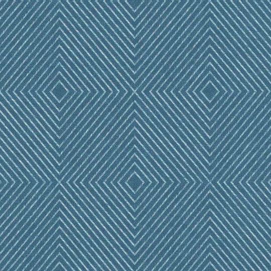 Шпалери AS Creation Metropolitan  36926-4 ромби абстрактні сині 0,53 х 10,05 м