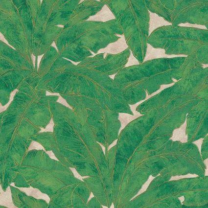 Шпалери AS Creation Metropolitan  36927-3 банановий лист зелений 0,53 х 10,05 м