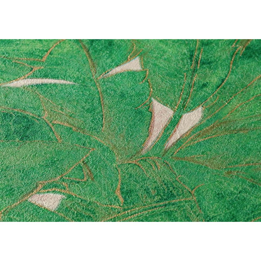 Обои AS Creation Metropolitan  36927-3 банановый лист зеленый 0,53 х 10,05 м