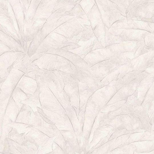 Обои AS Creation Metropolitan  36927-4 банановый лист белый 0,53 х 10,05 м