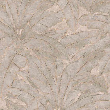 Обои AS Creation Metropolitan  36927-5 банановый лист коричневый 0,53 х 10,05 м