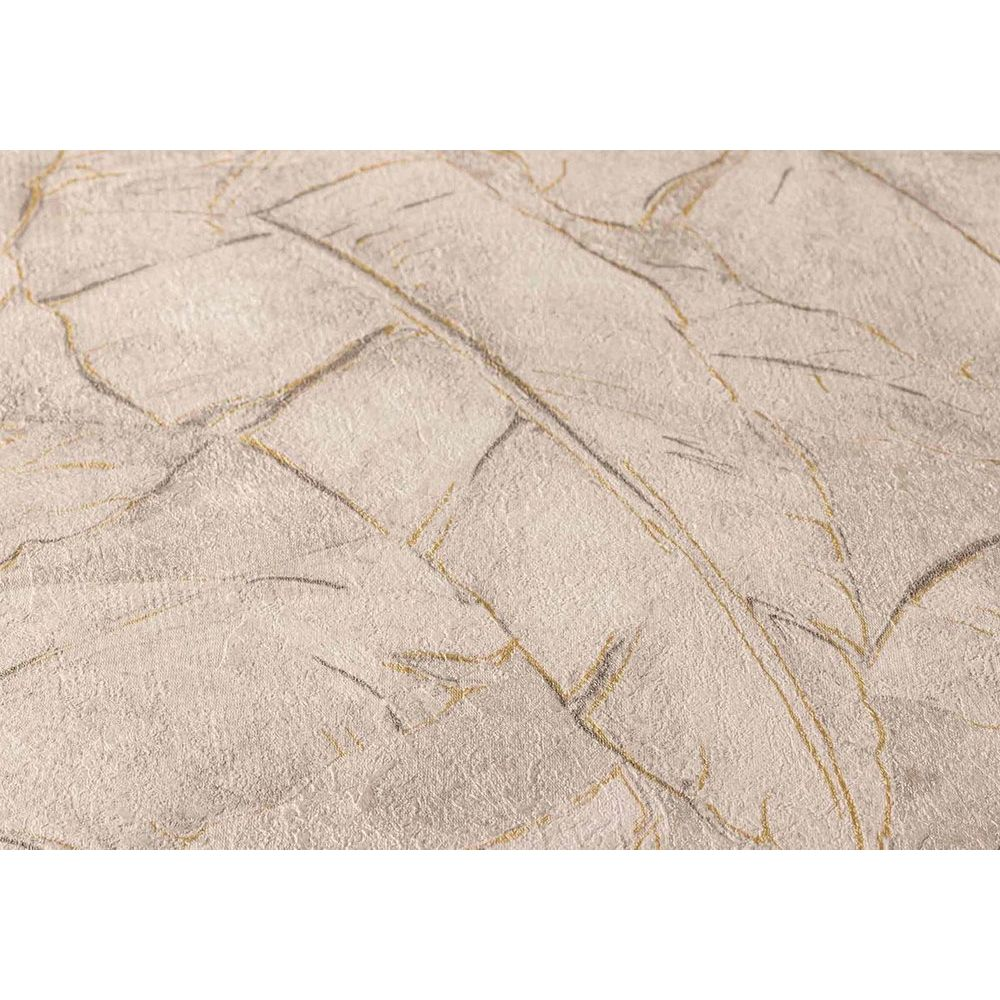 Шпалери AS Creation Metropolitan  36927-5 банановий лист коричневий 0,53 х 10,05 м