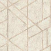 Обои AS Creation Metropolitan  36928-4 геометрия на бетоне бежевый 0,53 х 10,05 м