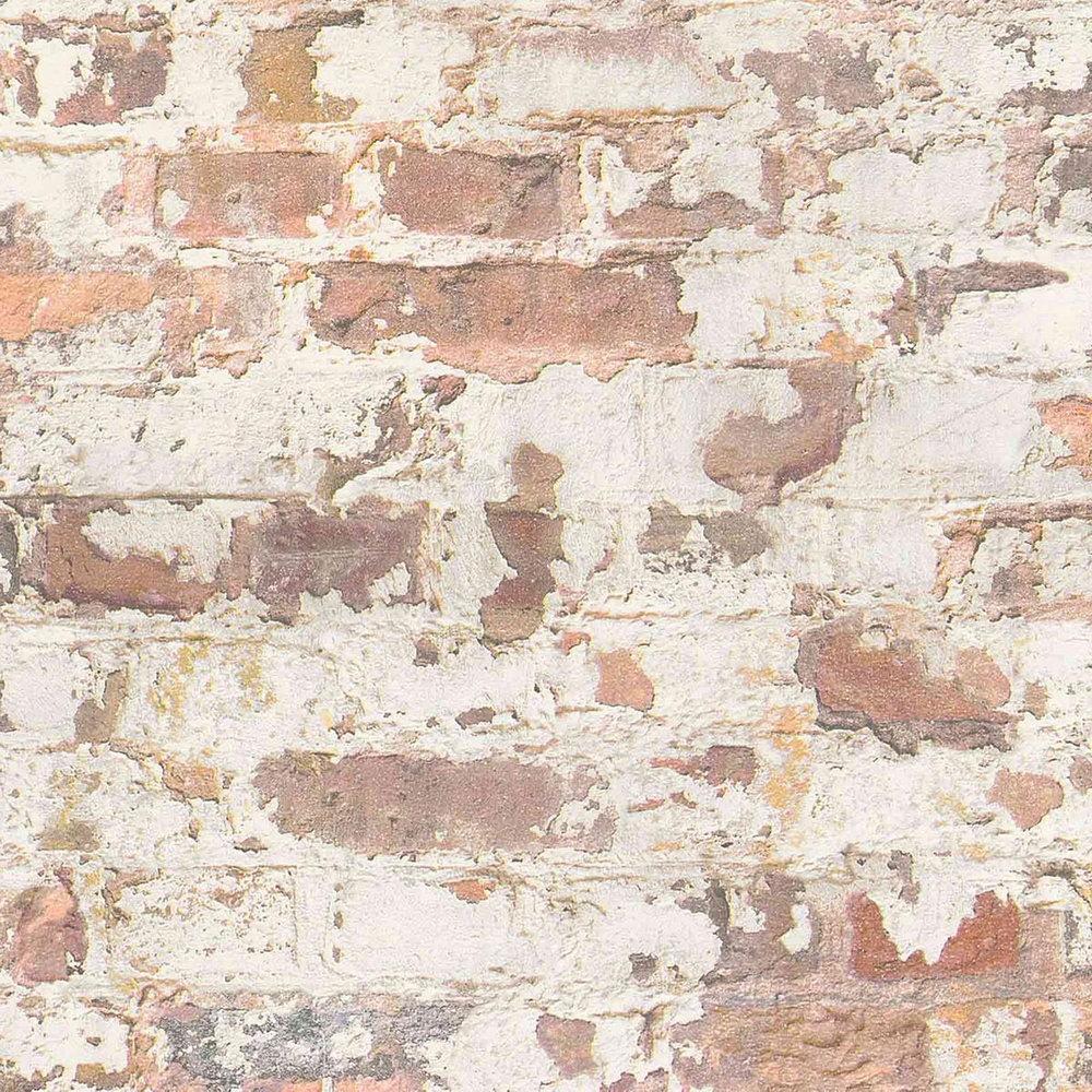 Обои AS Creation Metropolitan  36929-1 красный кирпич в штукатурке 0,53 х 10,05 м
