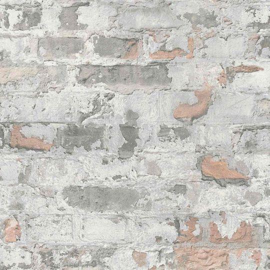 Шпалери AS Creation Metropolitan  36929-2 памаранчева цегла в штукатурці 0,53 х 10,05 м