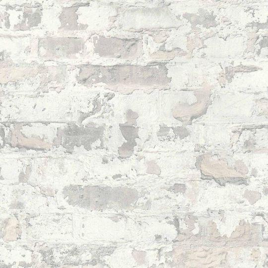 Обои AS Creation Metropolitan  36929-3 серый кирпич в штукатурке 0,53 х 10,05 м