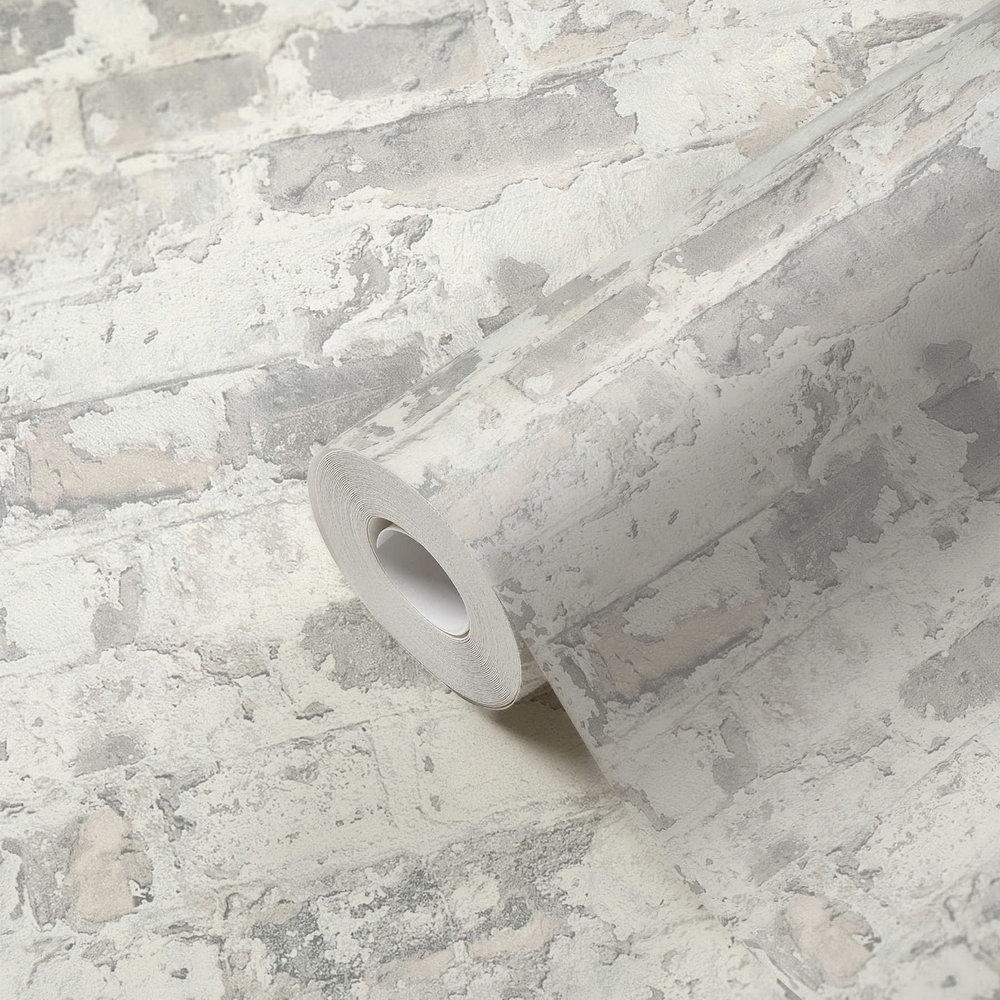 Шпалери AS Creation Metropolitan  36929-3 сірий цегла в штукатурці 0,53 х 10,05 м